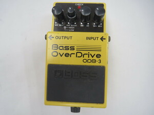 【中古品】BOSS Bass OverDrive ベース オーバードライブ ODB-3 (管理番号:060112)
