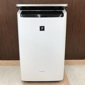 【中古品】SHARP(シャープ) 加湿空気清浄機 KI-NP100-W プラズマクラスターNEXT搭載プレミアムモデル(管理番号:046110)