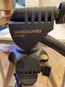 VANGUARD VT-432 バンガード 三脚 ビデオ カメラアクセサリー 中古品 レトロ