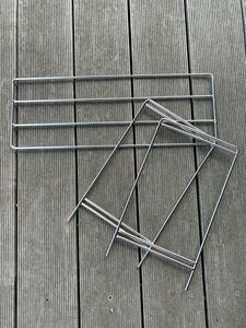 DIY 2wayステンレスロストル専用脚付きセット(180×500)