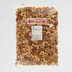好評 新品 素焼きミックスナッツ ミックスナッツ C-G4 カシューナッツ クルミ) 1kg 製造直売 無添加 無塩 無植物油 (アーモンド