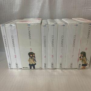 CLANNAD クラナド 初回限定版 DVD 全巻セット 新品 未開封