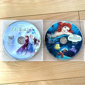 【DVD2枚セット】アナと雪の女王2、リトルマーメイド 未使用 ディズニープリンセス 新品未再生 MOVIENEX