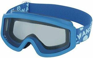 新品WMブルー×ブルー/グレイレンズ F2J-M6【国産ブランド】SWANS(スワンズ) 子供用 スキー スノーボード ゴーグル