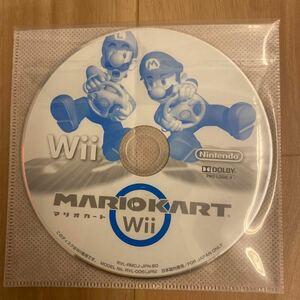 Wiiソフト マリオカートWii ソフトのみ