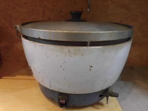 ★【中古品】ガス 炊飯器 LPガス用 直径50cm パロマ 業務用 PR-101CK ②★1439