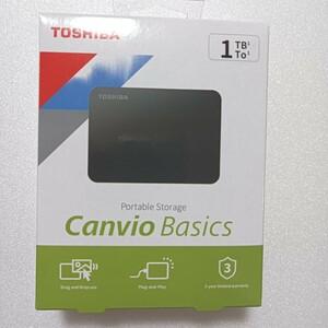 東芝CanvioBasics外付けポータブルハードディスク1TB TOSHIBA HDD