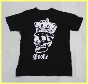 ●EVOKE/イヴォーク 8ネーム コラボ記念Tシャツ メンズS/ブラック/スカル/ドクロ/fragment design/UNDERCOVER 他/クルーネック#1678300005