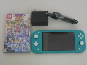 任天堂 Nintendo Switch Lite 本体 ニンテンドー スイッチライト ターコイズ HDH-S-BAZAA ゲーム機 switchソフト付き(シャドウバース)