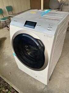 [使用数回程度!]Panasonic ドラム式洗濯乾燥機 エコナビ 洗濯11キロ乾燥6キロ NA-VX900BL 2020年製造