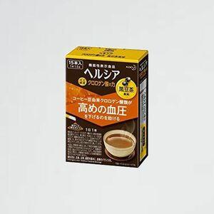 新品 好評 ヘルシア [機能性表示食品] C-BM (血圧が高めの方に) 15本 クロロゲン酸の力 黒豆茶風味 スティック [15日分(1日1本)]