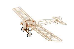 ★送料無料★希少★フォッカー単葉機E.IIIスローフライヤーキット、翼幅450 mm、1/20スケール