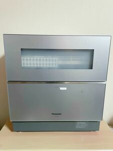 【美品】Panasonic 食器洗い乾燥機 NP-TZ100-S