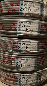 【送料無料】矢崎電線 2×1.6mm 「100m」×5巻 VVFケーブル  未使用