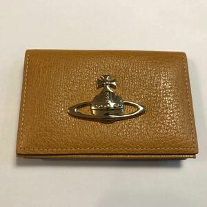 ■【Vivienne Westwood】ヴィヴィアンウエストウッド 名刺入れ カードケース パスケース 美品 正規品