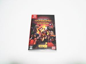 即決 Nintendo Switch マインクラフトダンジョンズ ヒーローエディション Minecraft Dungeons Hero Edition マイクラ スイッチ