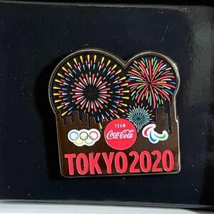 オリンピック2020 花火 ピンバッジ