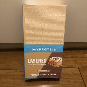 レイヤープロテインバー 黒糖タピオカミルクティー 1箱