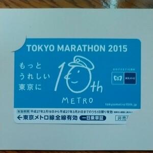 東京メトロ 一日乗車証 期限切れ