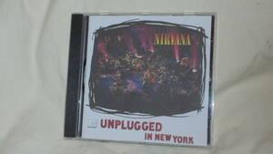 【ドイツ盤CD】Nirvana - MTV Unplugged in New York■Geffin/ニルヴァーナ/アンプラグド