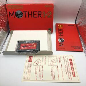 【へE2HJ】MOTHER1+2 ゲームボーイアドバンス GBA Nintendo 動作確認済み 完品 任天堂 MOTHER