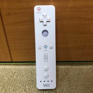 【匿名 送料無料】家庭用ゲーム機 任天堂Wiiリモコン ホワイト202-28