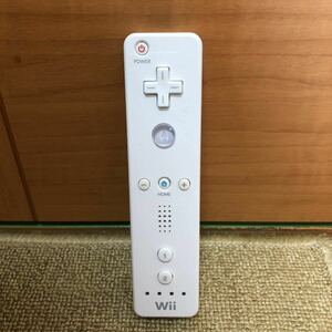 【匿名 送料無料】家庭用ゲーム機 任天堂Wiiリモコン ホワイト210-29