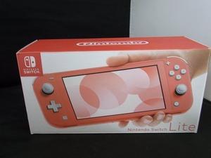 【未使用】 ニンテンドー Nintendo Nintendo Switch Lite コーラル HDH-S-PAZAA