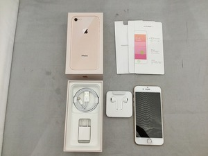 エーユー au 【SIMロック解除済】iPhone8 64GB【ネットワーク利用制限〇】 ゴールド MQ7A2J/A