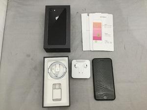 ソフトバンク SoftBank 【SIMロック解除済】iPhone8 64GB【ネットワーク利用制限〇】 スペースグレイ MQ782J/A