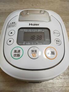 ハイアール 5.5合炊きマイコンジャー炊飯器