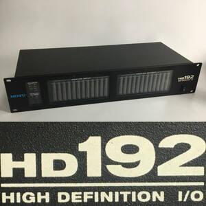 MN1/10  MOTU HD192 オーディオインターフェイス ジャンク扱い レコーディング 音響 DTM DAW 打ち込み 通電確認済み オーディオ ①