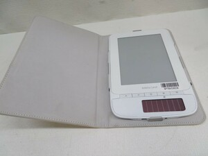 ★au SP02 電子ブックリーダー タブレット biblio Leaf 電子書籍 カバー付き USED 47910★!!