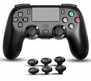 PS4 コントローラー スティックキャップ2組付き 日本語取扱説明書