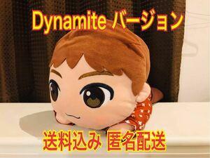 TinyTAN 寝そべり メガジャンボ ぬいぐるみ Dynamite Jin ジン BTS