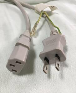 パソコン用 AC電源ケーブル