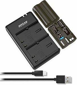 新品BP-511 バッテリー+急速充電器 HOSAN BP-511 BP-511A 純正互換 バッテリー 2個 + D42Q
