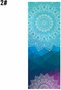 新品Color 2# Easylifee ヨガタオル ヨガラグ ホットヨガ 滑り止め 183cm*63cm 吸水 吸5SKD