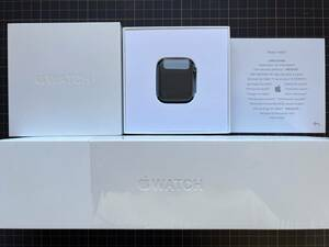 [ unused new goods / manufacturer guarantee equipped ]Apple/ Apple Apple Watch Series 5(GPS model ) 44mm Space gray aluminium MWVF2J/A original box attaching