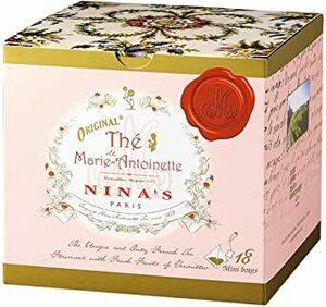 ニナス(NINA'S) マリーアントワネット ティーバッグBOX 1箱【フランス 海外土産 輸入飲料】「紅茶」