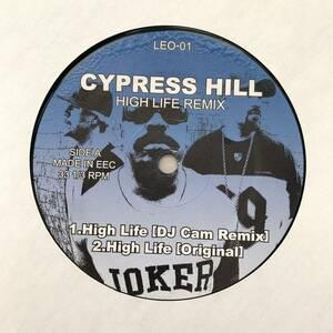 "Cypress hill / Diamond D / High life /The Hiatus // 12"""