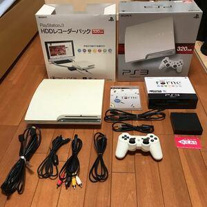 SONY PlayStation3 CECH-2500B HDDレコーダーパック320GB