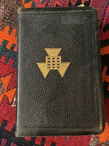 1940年代 ビンテージ 聖書 フリーメーソン Holy Bible アメリカヴィンテージ