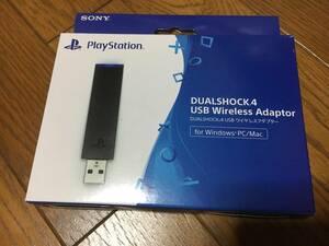 新品未開封 DUALSHOCK4 USBワイヤレスアダプター