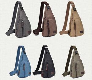 6カラー☆カジュアル な ボディバッグ 斜めがけ バッグ ワンショルダー バッグ メンズ