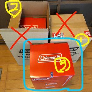 Coleman 120th シーズンズランタン 外箱なし1台+サンシャインキャッチャー1個