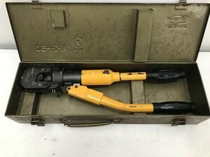 【中古品】LOBSTER 手動油圧式圧着工具 AKH-60 ITUV9UHI2LJI