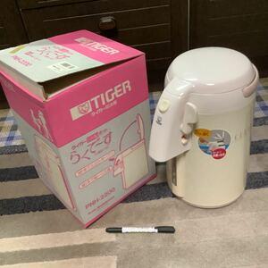 タイガー魔法瓶 タイガーLadyポット らくでーす 水量計つき 2.24リットル ポット TIGER 保温 新品 タイガーポット 日本製 激安