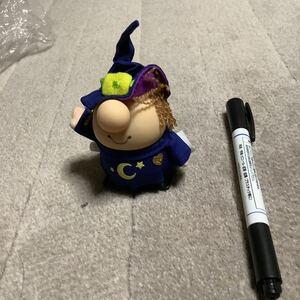 レア 新品 ziggy ゼンマイ人形 ジギー 人形 ソフビ フィギュア 魔女 ハロウィン 海外キャラクター ビンテージ コレクション アンティーク