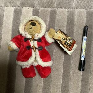 新品 テディベア ぬいぐるみ レア くま 人形 サンタクロース テディベア ビンテージ sun arrow ハニーベア ダッフルコート サンアロー